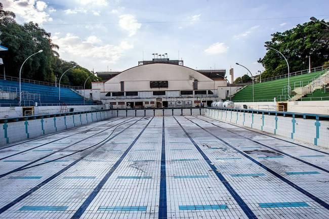 Estádio do Pacaembu - Piscina