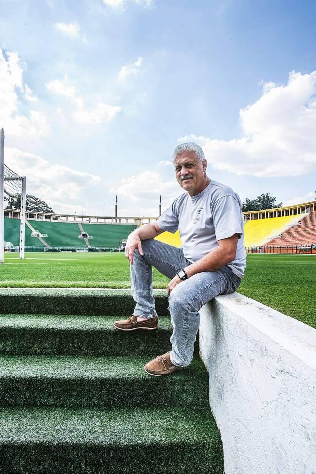 Franscisco Dada administrador do Estádio do Pacaembu