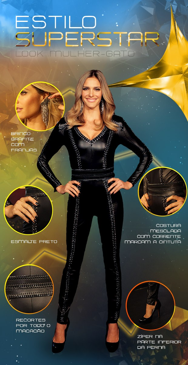 Look Fernanda Lima - Superstar - Letage