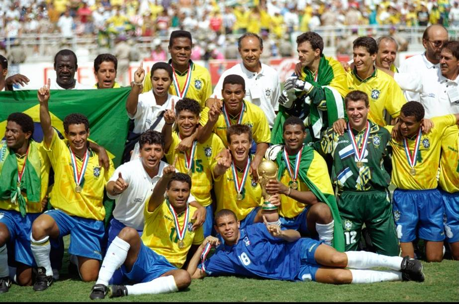 Conquista do Tretacampeonato na Copa de 1994