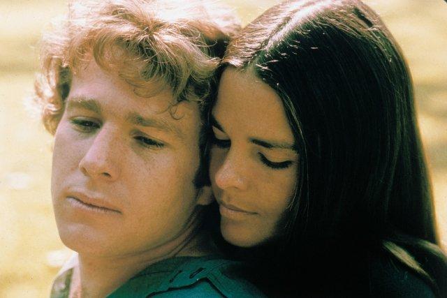 Love Story, a comovente história de amor de Ryan O'Neal e Ali MacGraw