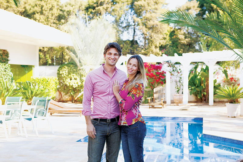 Os ex-modelos Mendes e Flavia: membros da Igreja Adventista do Sétimo Dia