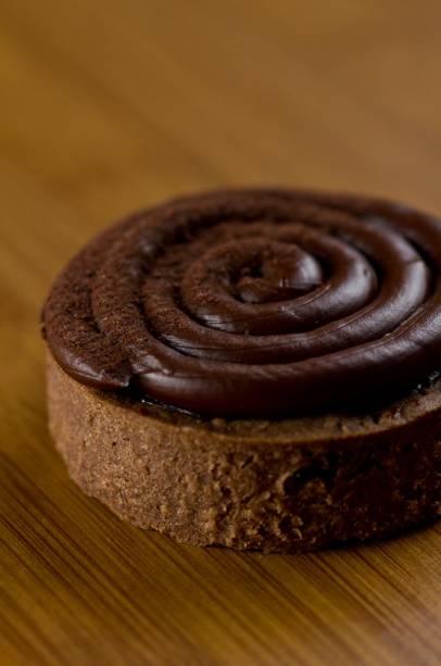 Chefs na Rua: torta de banana com chocolate do chef Lucas Corazza