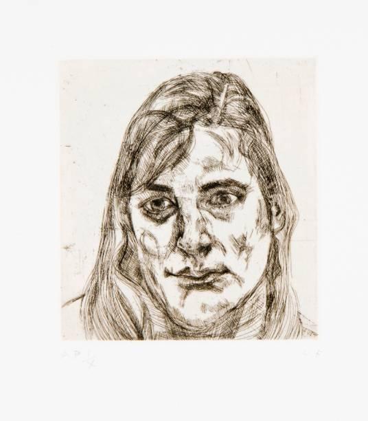 Esther: uma das gravuras experimentais do pintor