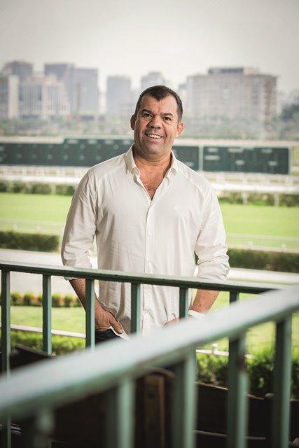 Luis Maida, organizador do réveillon no Jockey Club de São Paulo (Foto: Leo Martins)