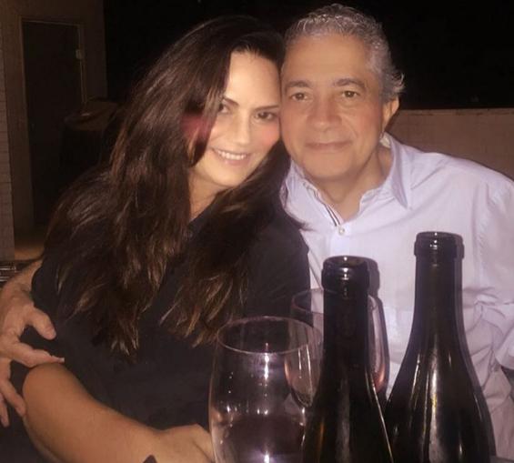 Luiza e Zimmerlae, da Globo: estavam se conhecendo melhor (Foto: Reprodução/Instagram)