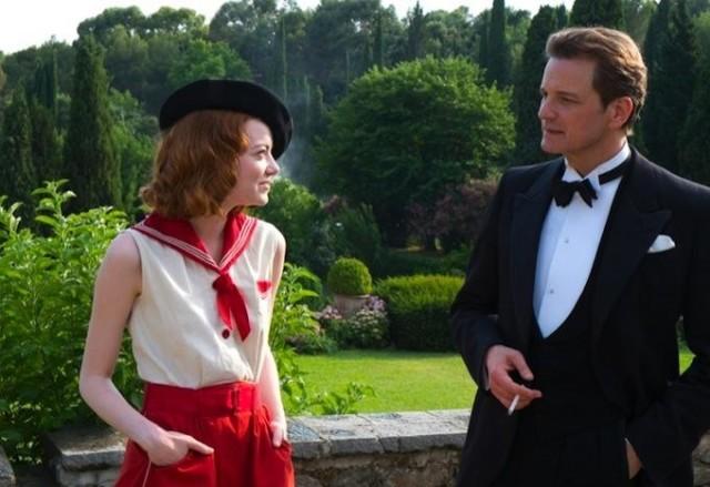 Emma Stone e Colin Firth numa trama ambientada nos anos 20