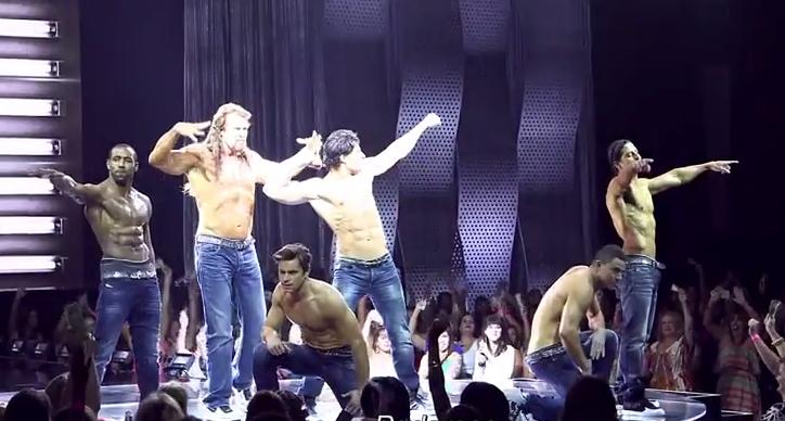 Os strippers de Magic Mike XXL, lançamento do dia 30