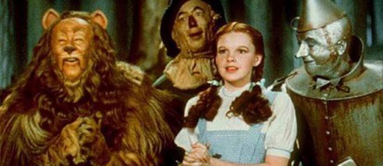 Cena de O Mágico de Oz: sincronizado com Pink Floyd (Foto: Reprodução)
