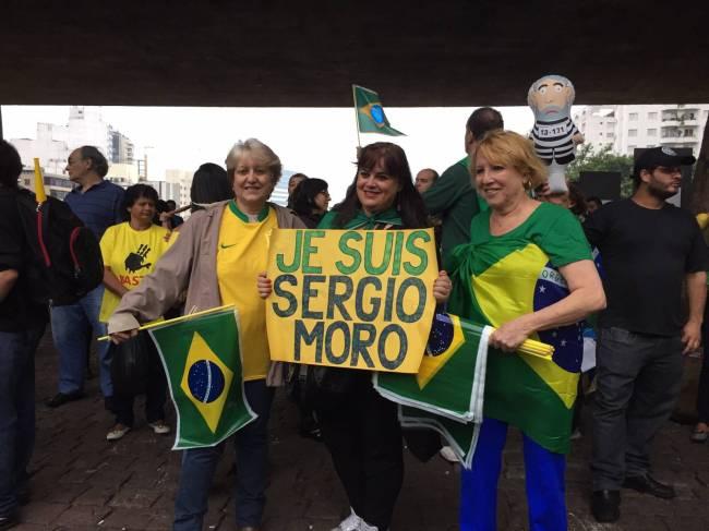 Manifestantes Paulista
