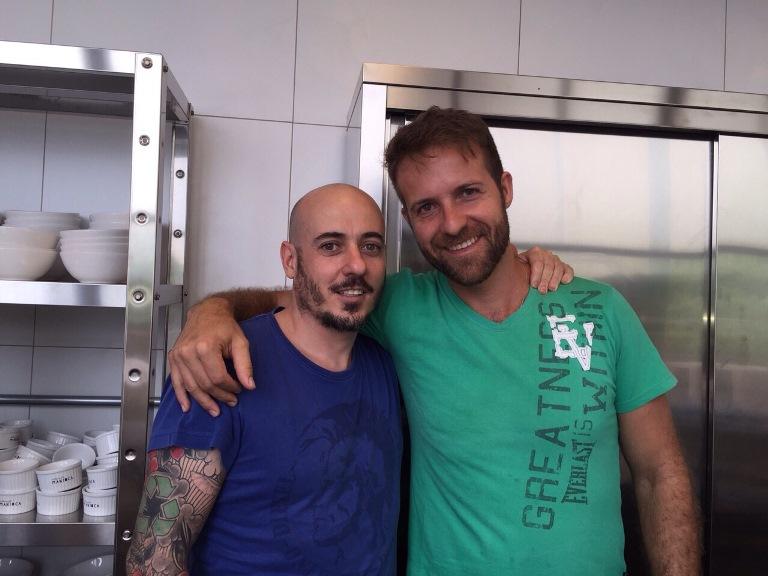 Daniel Redondo e Marcelo Almeida: menu a quatro mãos