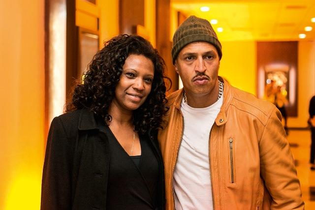 Eliane e o marido, Mano Brown: documentário vetado (Foto: Bruno Poletti / Folhapress)