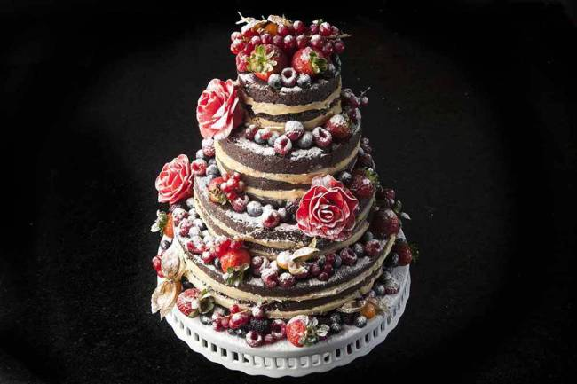 Manô Andrade Doces - naked cake