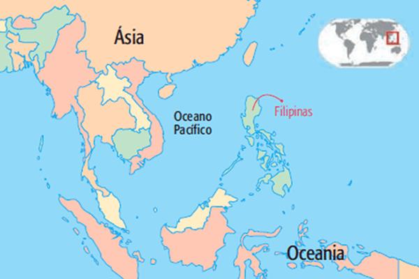 mapa babás filipinas