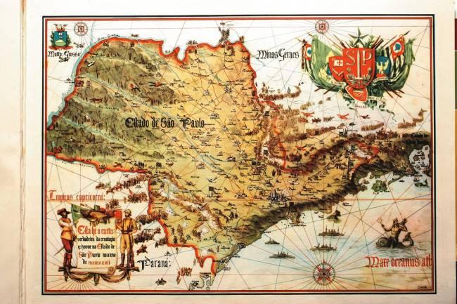 Capa 2276 - Mapa ilustrado