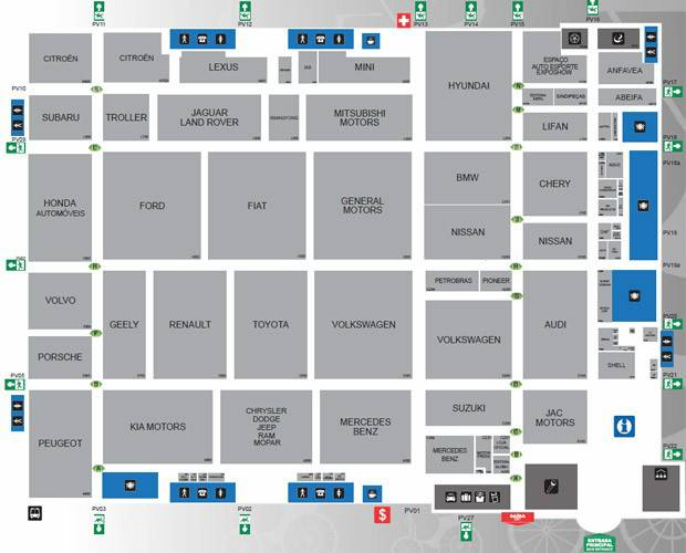 mapa salao
