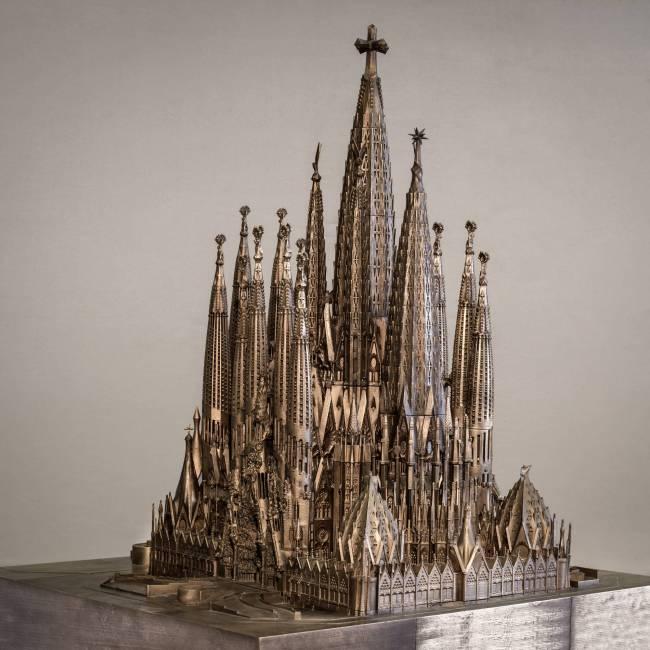 Gaudí_exposição Instituto Tomie Ohtake