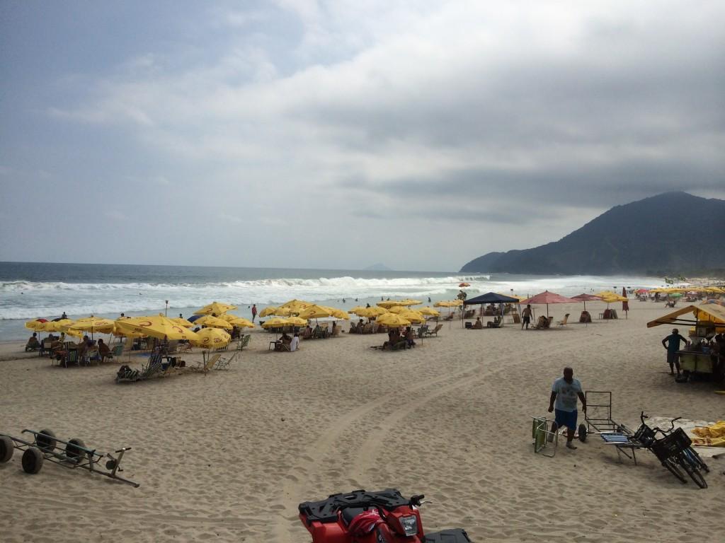 Maresias faz parte da relação de 34 praias impróprias para banho no litoral paulista (Foto: Fábio Lemos Lopes)