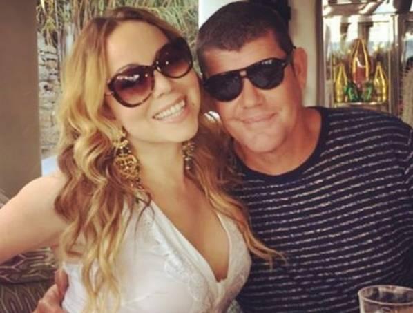 Mariah Carey e noivo 1