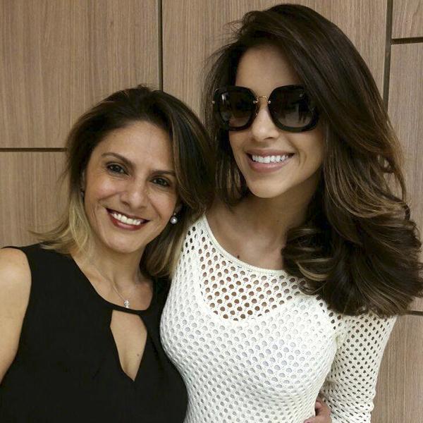 A cabeleireira Maryta e a atriz