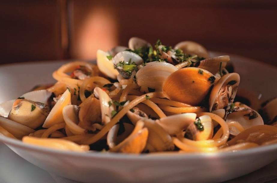 Espaguete ao vôngole: cozido na medida e com um gostinho irresistível de mar