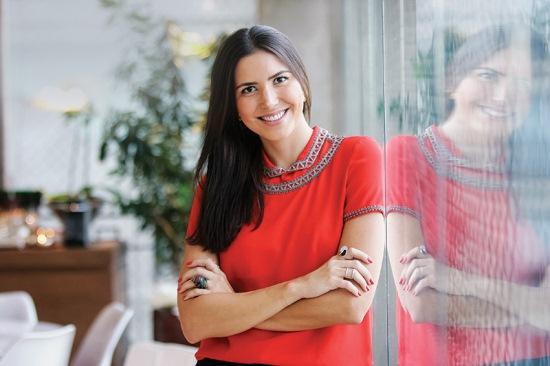 A joalheira Marina Vicintin: vendas pelo Instagram (foto: Mario Rodrigues)
