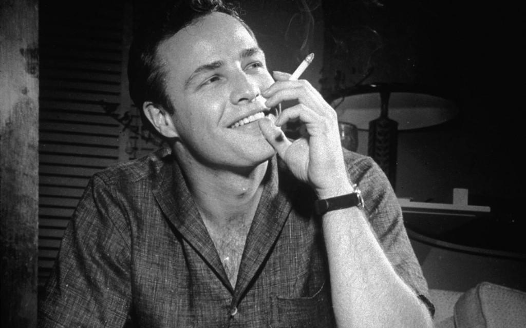 Marlon Brando é o ator preferido de Bruno e sua maior referência