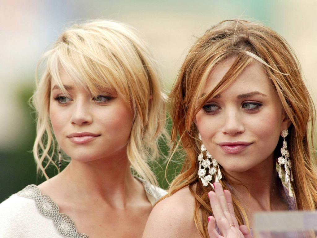 As gêmeas na fase em que eram idênticas: quem é Ashley e quem é Mary-Kate?