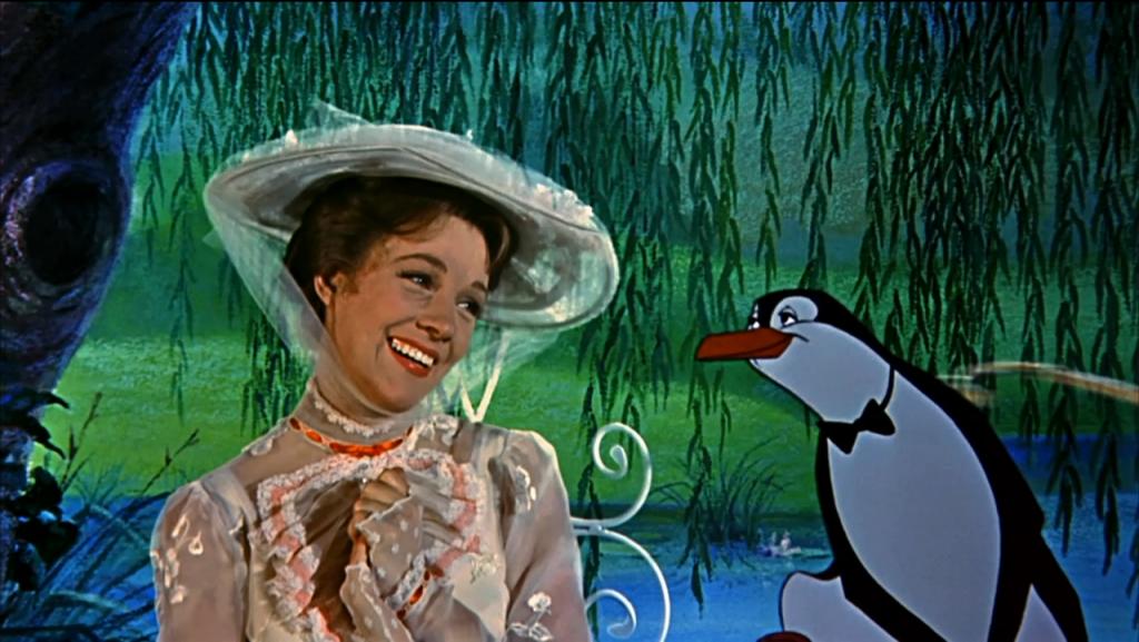 Julie Andrews é a protagonista de Mary Poppins - – dias 11,12 e 15 de abril