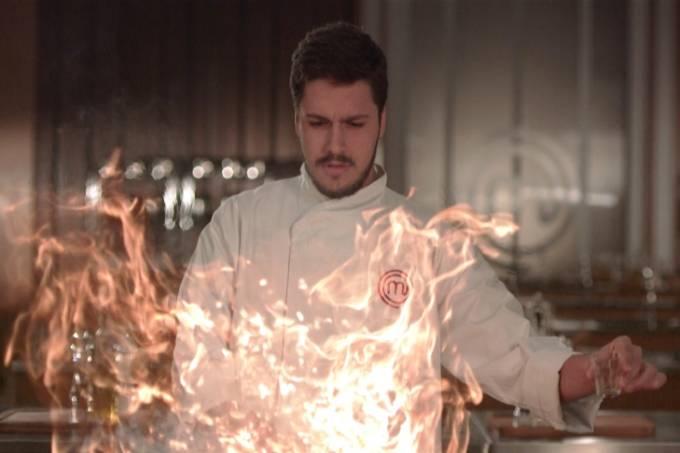 Martin: queimado na prova com sobras de cozida (Foto: divulgação)
