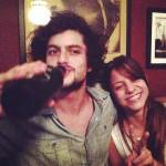 Em boa companhia: Mohamad com Elisa (Fotos: reprodução do Instagram)