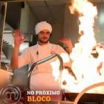 Mohamad: quase incendeia o restaurante A Figueira Rubaiyat