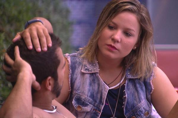 Cacau, que tem alto índice de rejeição: está na final do BBB (Foto: Divulgação TV Globo)
