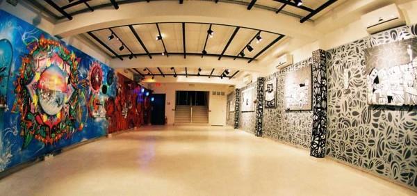 A galeria é o espaço mais frequentado da Matilha Cultural. Abriga mostras de arte, fotografia e outras produções visuais. O espaço também é usado para confraternizações, lançamentos de publicações e coquetéis
