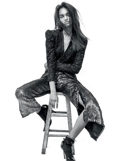 """A modelo: """"Todos me acharam a cara da Rihanna"""" (Foto: Divulgação)"""