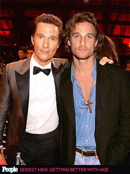Matthew McConaughey em 2014 e em 1996