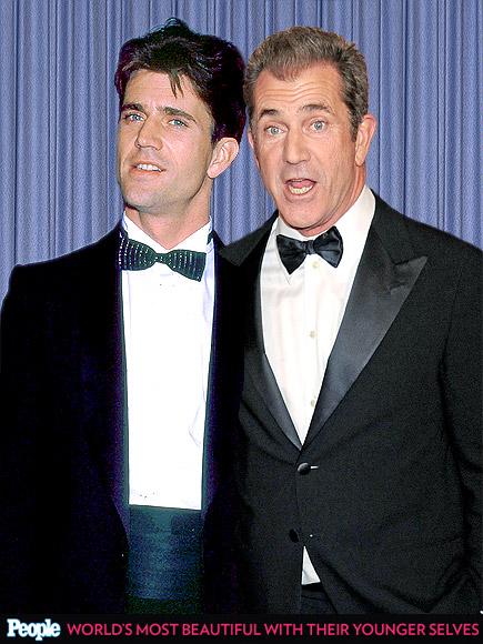 Mel Gibson em 1984 e em 2013