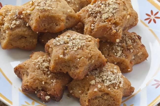Melamarakono - doce de nozes e mel