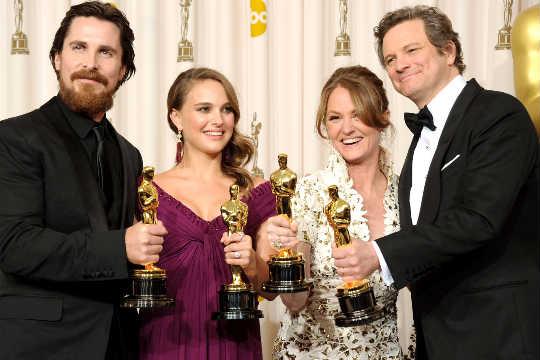 Christian Bale Natalie Portman Melissa Leo Colin Firth