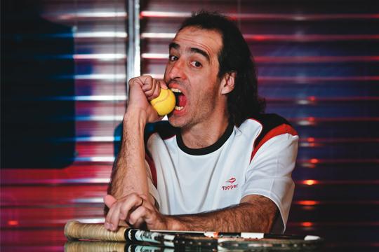 Meligeni: boas histórias de bastidores do circuito (Foto: Mario Rodrigues)