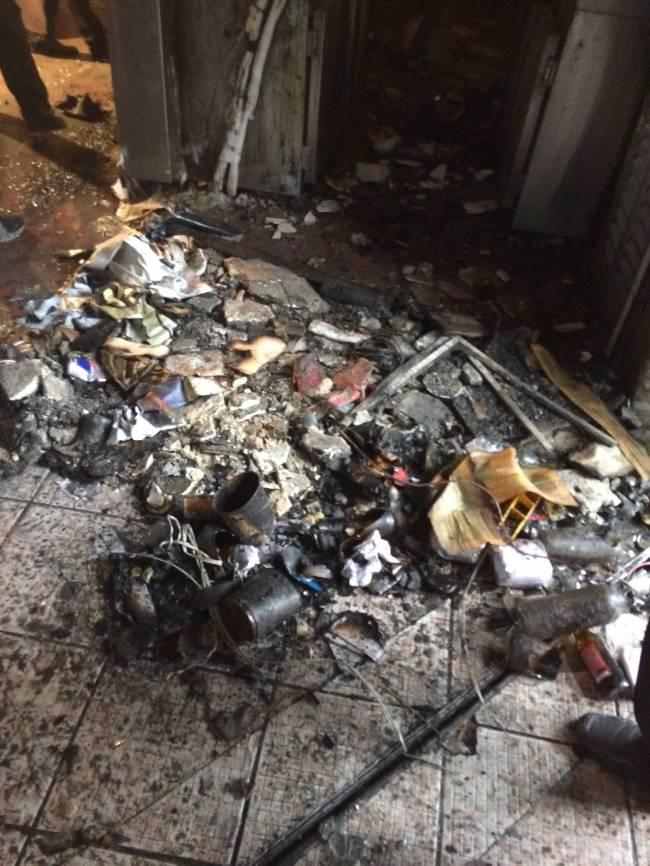 Mercearia São Pedro - incêndio