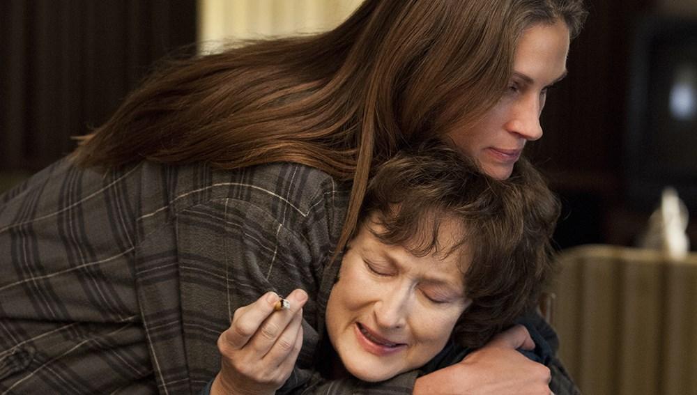 Meryl Streep e Julia Roberts estão no páreo para melhor atriz e atriz coadjuvante, respectivamente