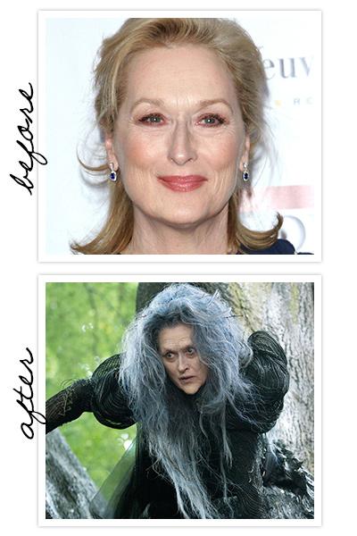Ainda inédito, Into the Woods traz Meryl Streep como uma feiticeira