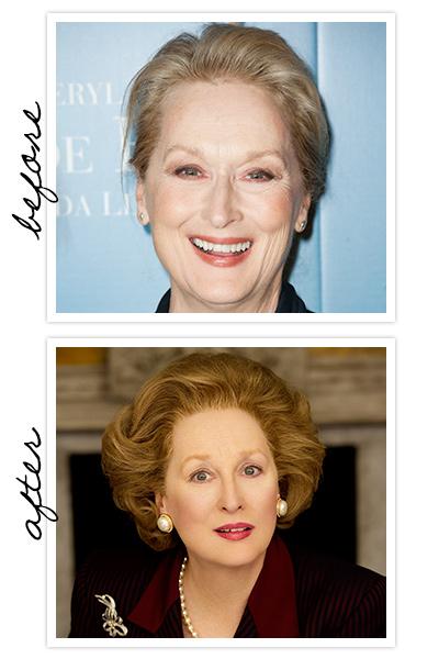 Também Meryl Streep ganhpu o Oscar ao interpretar Margaret Thatcher em A Dama de Ferro