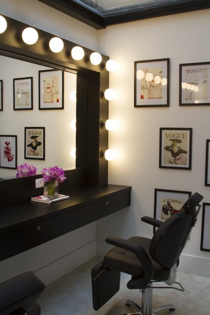 Ambiente interno do Leela Hair & Spa (Foto: Henrique Padilha)