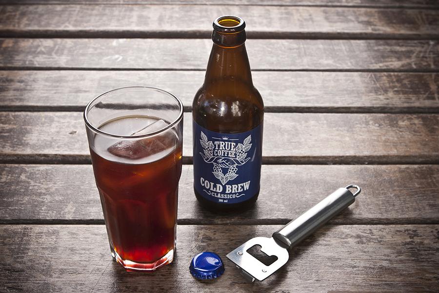 Cold brew vendido no KOF  (Foto: Lucas Lima)