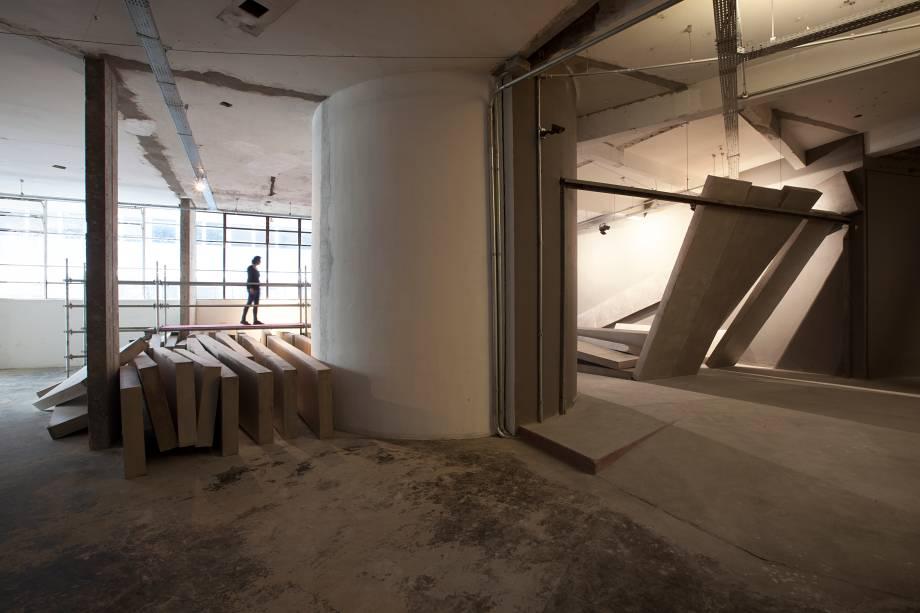 O projeto tinha sido desenhado por Oscar Niemeyer
