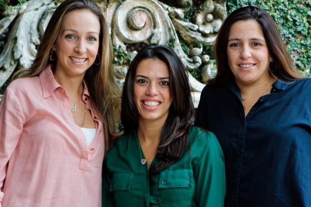 Edda Ugolini, Gizella Luglio e Elisa Tavares