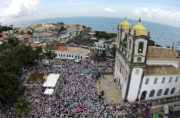 Igreja Nosso Senhor do Bonfim (Foto: Max Haack/Prefeitura de Salvador)
