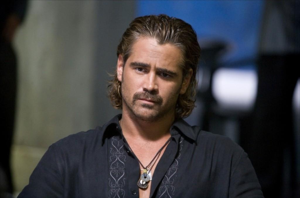 """Colin Farrell em Miami VIce: """"Não gostei, de verdade"""""""